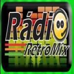 Logo da emissora Rádio Retromix