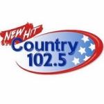 Logo da emissora Radio WKLB Country 102.5 FM