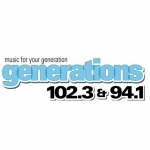 Logo da emissora WZGN 102.3 FM