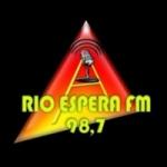 Logo da emissora Rádio Rio Espera 98.7 FM