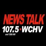 Logo da emissora WCHV 107.5 FM