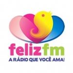 Logo da emissora Rádio Feliz 107.7 FM