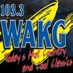 Logo da emissora WAKG 103.3 FM