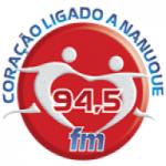 Logo da emissora Rádio Nanuque 94.5 FM