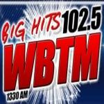 Logo da emissora WBTM 1330 AM