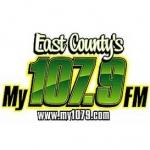 Logo da emissora KRLY 107.9 FM