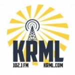 Logo da emissora Radio KRML 102.1 FM
