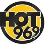 Logo da emissora KEZE 96.9 FM