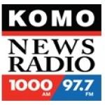 Logo da emissora KOMO 1000 AM