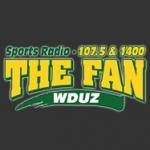 Logo da emissora WDUZ 107.5 FM