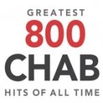 Logo da emissora Radio CHAB 800 AM