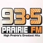 Logo da emissora Radio CKVH Prairie 93.5 FM