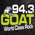 Logo da emissora Radio CIRX The Goat Rocks 94.3 FM
