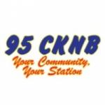 Logo da emissora Radio CKNB 95.1 FM