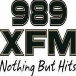 Logo da emissora Radio CJFX XFM 98.9 FM