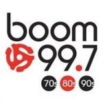 Logo da emissora Radio CJOT Boom 99.7 FM