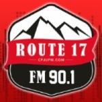 Logo da emissora Radio CFJU Route 17 90.1 FM