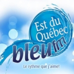 Logo da emissora Radio CFMV Bleu 96.3 FM