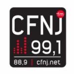 Logo da emissora Radio CFNJ 99.1 FM