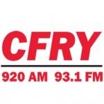 Logo da emissora Radio CFRY 920 AM 93.1 FM