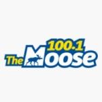 Logo da emissora Radio CJCD Moose 100.1 FM