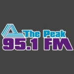 Logo da emissora Radio CKCB The Peak 95.1 FM