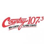 Logo da emissora Radio CJDL Country 107.3 FM