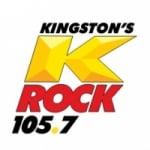 Logo da emissora Radio CIKR K-Rock 105.7 FM