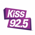 Logo da emissora Radio KISS 92.5 FM