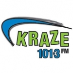 Logo da emissora Radio CKIK Kraze 101.3 FM