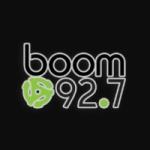 Logo da emissora Radio Boom 92.7 FM