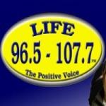 Logo da emissora Radio CJFY Life 107.7 FM