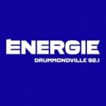 Logo da emissora Radio CJDM Énergie 92.1 FM