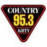 Logo da emissora Radio KRTY 95.3 FM
