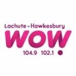 Logo da emissora Radio CJLA WOW 104.9 FM