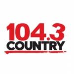Logo da emissora Radio CJQM Country 104.3 FM