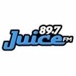 Logo da emissora Radio CJSU Juice 89.7 FM