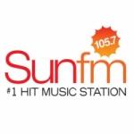 Logo da emissora Radio CICF Sun 105.7 FM