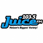 Logo da emissora Radio CHNV Juice 103.5 FM
