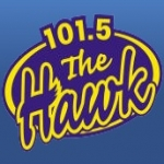 Logo da emissora Radio CIGO The Hawk 101.5 FM