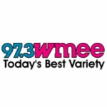 Logo da emissora Radio WMEE 97.3 FM