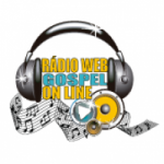 Logo da emissora Rádio Web Gospel On Line