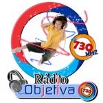 Logo da emissora Rádio Objetiva 730 AM