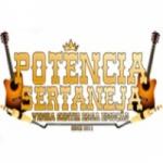 Logo da emissora Rádio Potência Sertaneja