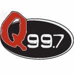 Logo da emissora Radio WLCQ Q 99.7 FM