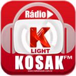 Logo da emissora Rádio Kosak Light