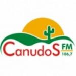 Logo da emissora Rádio Canudos 106.7 FM