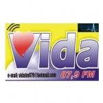 Logo da emissora Rádio Vida Silvânia 87.9 FM