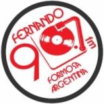 Logo da emissora Radio Fernando 90.7 FM