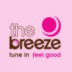 Logo da emissora Radio The Breeze 107.5 FM